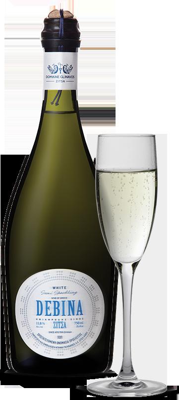 Debina sparkling wine - Domaine Glinavos
